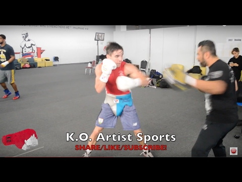 MICHAEL CONLAN RIPPING THE HAND PADS! PRO DEBUT MARCH 17TH IN NEW YORK!