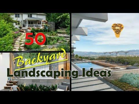 50 Backyard Landscaping Ideas - YouTube