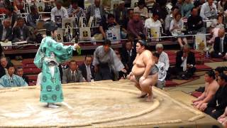 2013年6月1日(土)、垣添引退雷襲名披露大相撲に行ってきました! 十両取...