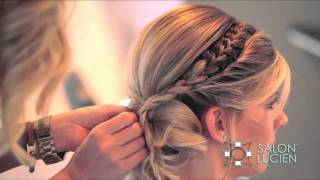 Unique Up Style How To by Christen Swearengin of SALON LUCIEN