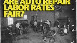 Are Auto Repair Labor Rates Fair? -ETCG1