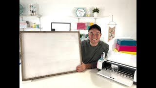 A BEGINNERS GUIDE TO LARGER THAN CRICUT MAT PROJECTS!