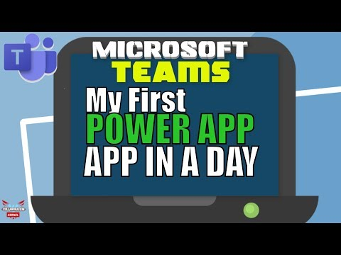 My first Power App Canvas App for Beginners (Powerapps Tutorial)