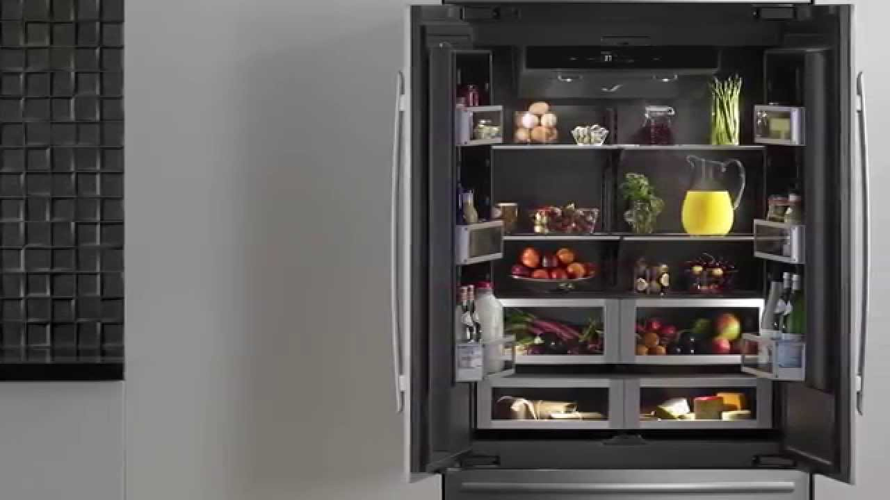 Jennair 174 Obsidian Refrigerator Jennair Youtube
