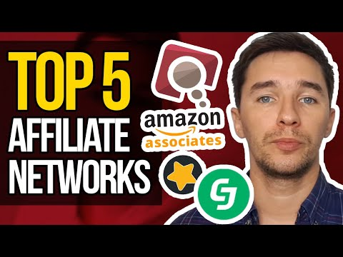 Top 5 Affiliate Networks – Best Affiliate Programs for Beginners 2018