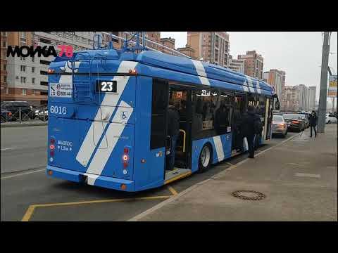Смотреть В Петербурге на линию вышли первые электробусы онлайн