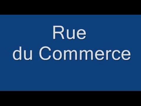 Rue du Commerce Paris  Arrondissement - 15e.