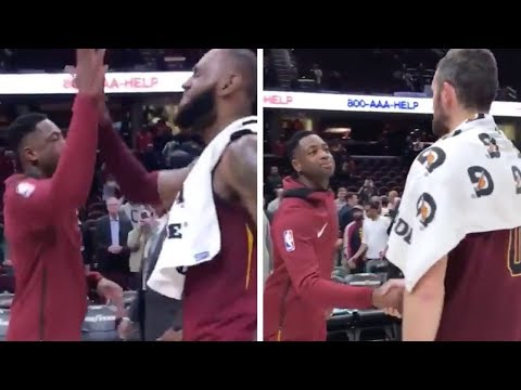 Kevin Love SALTY Over LeBron James & Dwyane Wade