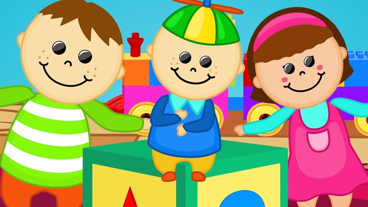Cabeza Hombros Rodillas Pies con Juguetas - Canciones de Niños
