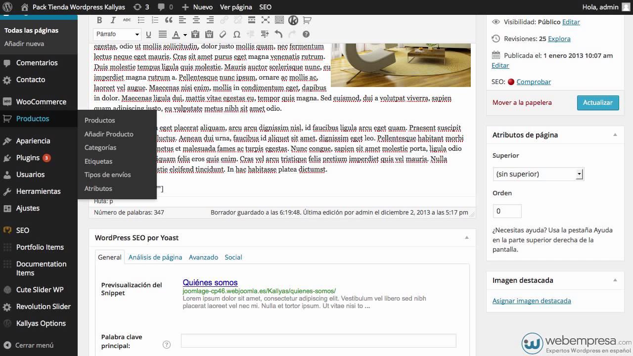 Insertar productos de WooCommerce en Páginas o Entradas de WordPress ...