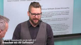 #heiseshowXXL: Brauchen wir AV-Software?
