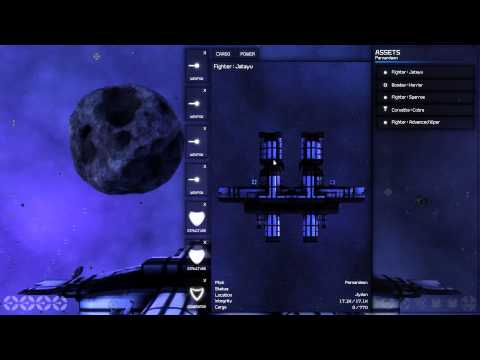 Limit Theory Prototype Fleet Gameplay