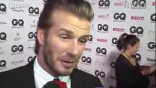 Mann des Jahres: GQ-Stil-Award für David Beckham