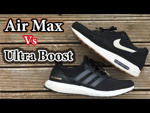 Air Max vs Ultra Boost   Which BLACK