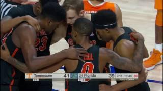 Florida vs Tennessee Basketball Highlights 1-7-17