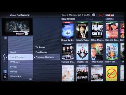 Faces of FiOS Demo Video - Free On Demand