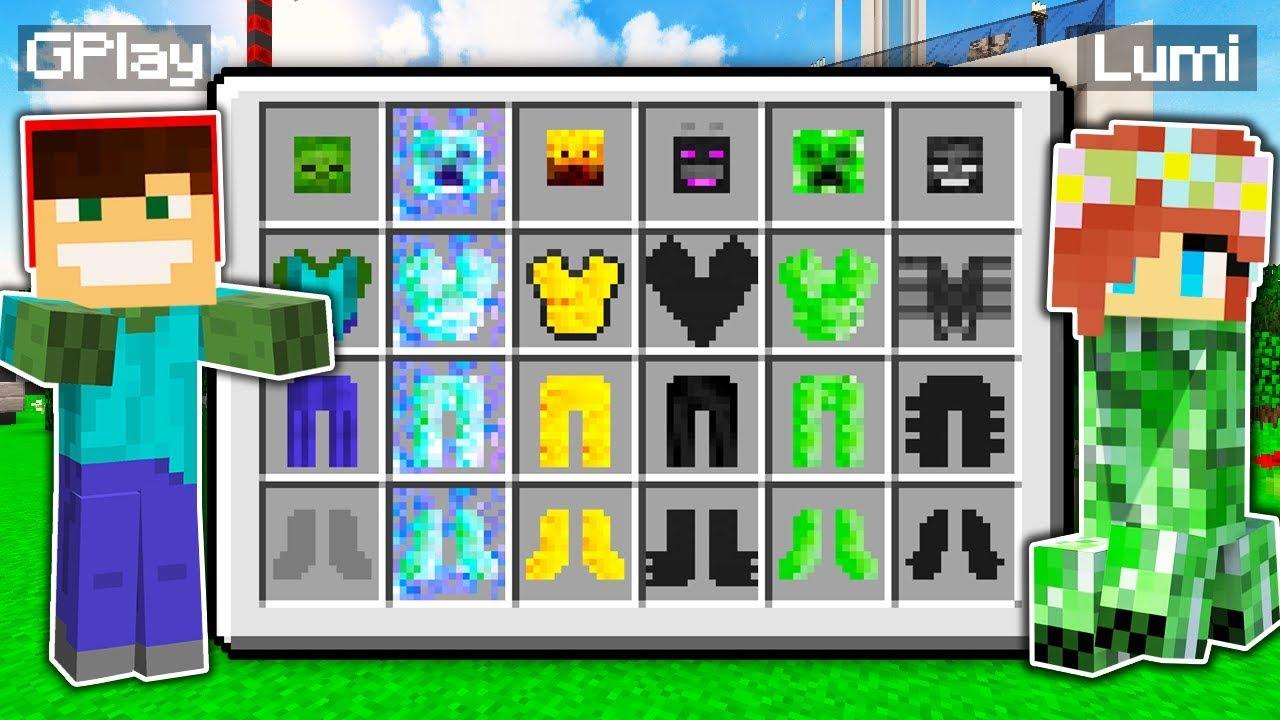 Jak Zostac Kazdym Mobem W Minecraft Dzieki Epickiej Zbroi Gplay Lumi Youtube