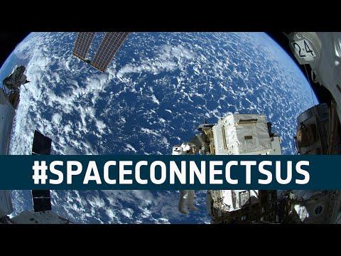 #SpaceConnectsUs live online event