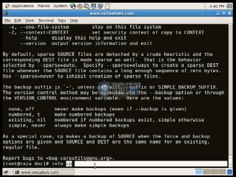 LINUX TUTORIALS : How to get command help.