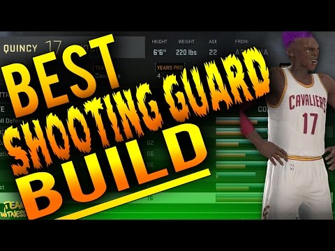 NBA 2K16 Tips: Best SHOOTING GUARD Build - How To Create a KNOCKDOWN 99 Overall SG in 2K16!