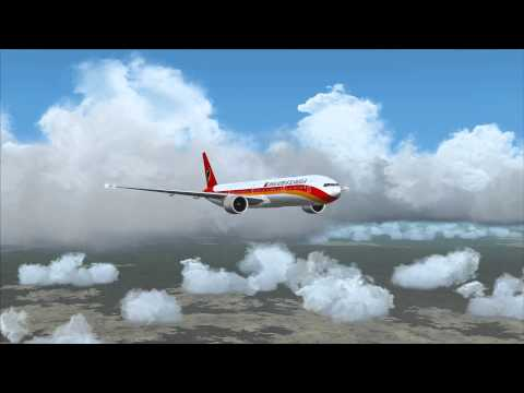 B777 Angola Airlines - Lisbon to Luanda