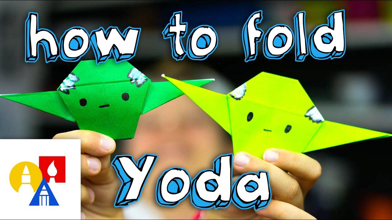How to Fold | Origami Yoda | 720x1280