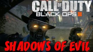 "BLACK OPS 3 ZOMBIES: Shadows of Evil! ★ ""FIRST Playthrough #NGTPure"" Let"