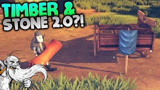 "Community Inc Gameplay - ""TIMBER & STONE 2.0?!?""  - Let"
