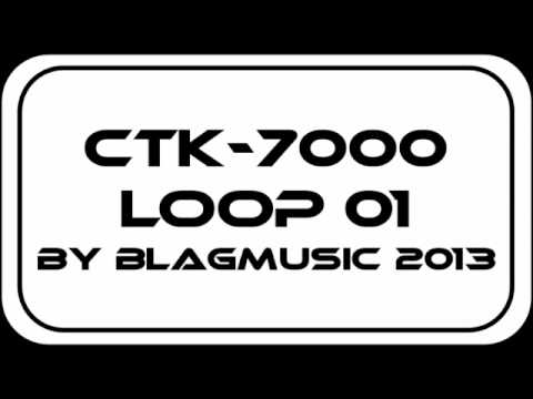 Casio CTK-7000 Smooth Chords Loop with a 90s Swing Feel (1