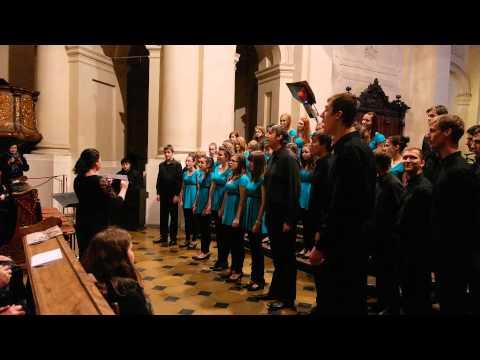 Prague Christmas - Choir Orlova performance