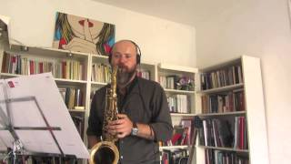 Michael Brecker ¨Bye George¨solo transcription ( Artem Zhulyev saxophone)