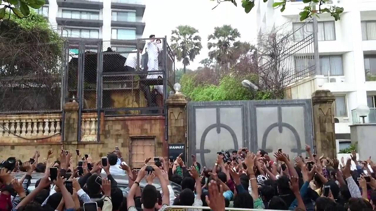 Shahrukh Khan House Mannat To Wish For His Fans On Eid