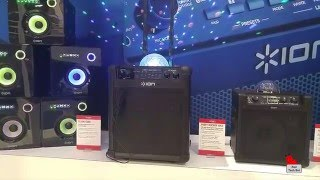 ION Wireless Speakers at CES Video