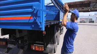 DAF XF 105 обзор грузового автомобиля с прицепом