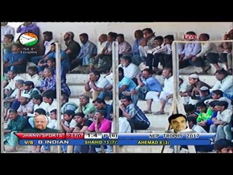 JANVI SPORTS vs B INDIAN || NCP TROPHY 2017 LIVE || PARSHURAM TAWRE STADIUM || DAY 4