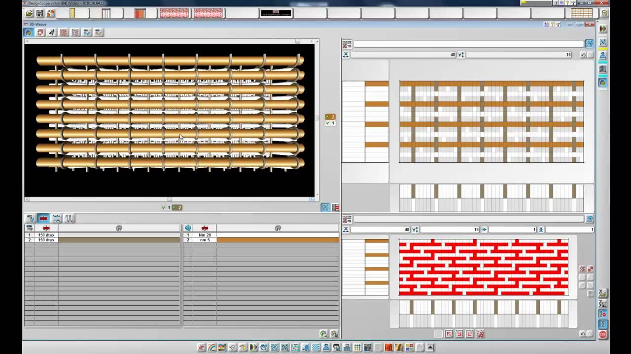Jacquard Weaving Design Software