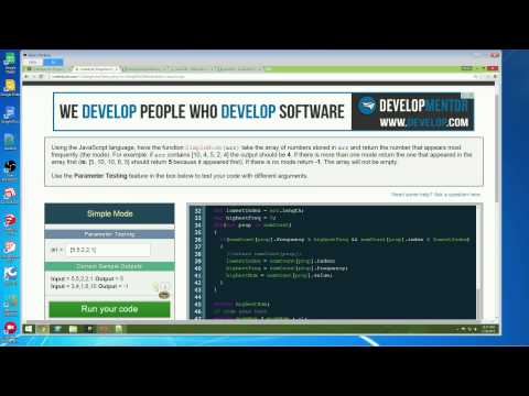 Live Code - Pair Programming - CoderByte Challenge: Simple Mode