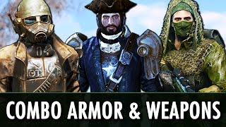 Fallout 4 Mods: Combo Armour & Weapons