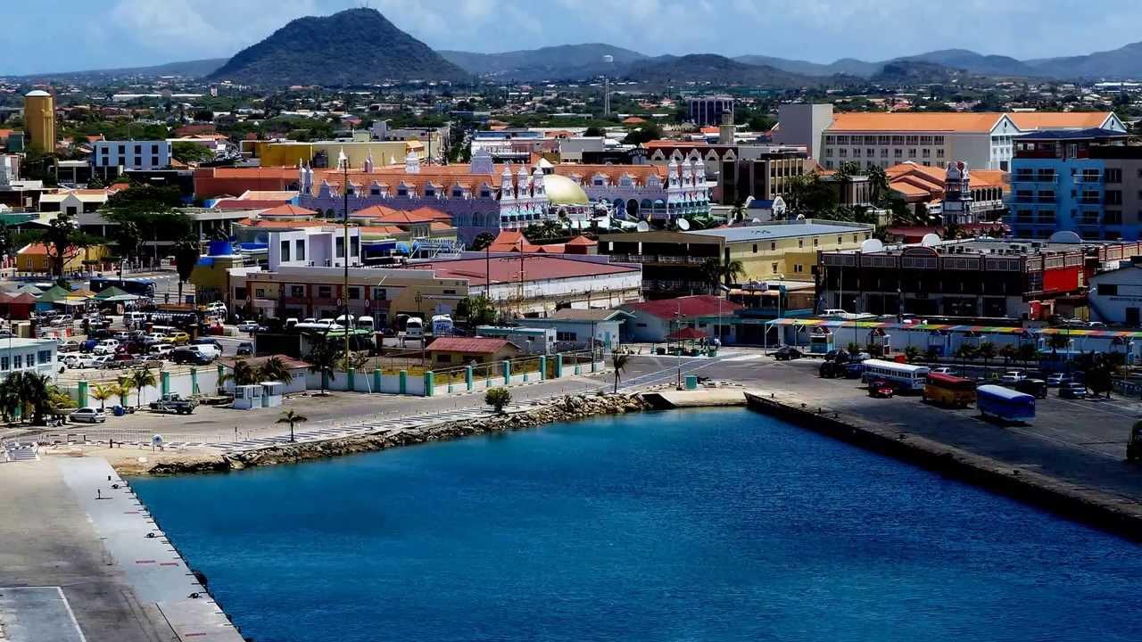 Port Of Oranjestad Aruba Youtube