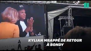 Mbappé de retour à Bondy pour la première fois depuis le Mondial