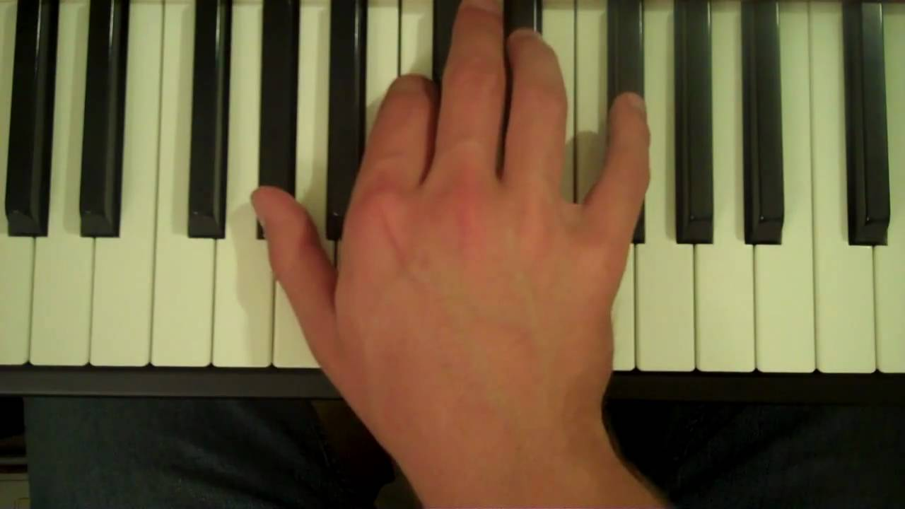 How To Play An Ab7 Chord On The Piano Youtube