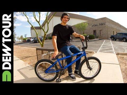 Kevin Peraza's Mongoose BMX Setup for Dew Tour 2013, Alli Sports