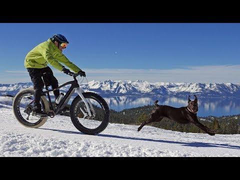 Off the Beaten Path: Biking from snow to desert dunes in Nevada