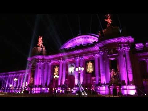 General views of the 2016 Victoria Secret Paris fashion show at the Grand Palais