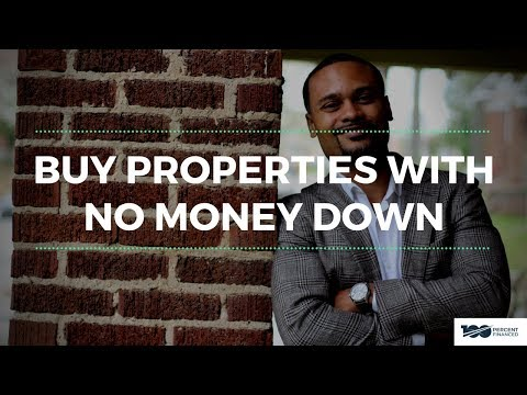 How to Buy Real Estate with No Money Down - No Down Payment