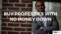 Buy Properties With No Money Down