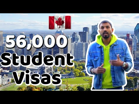 Good News : Canada Immigration Giving 56,000 Student Visa Approval 2020