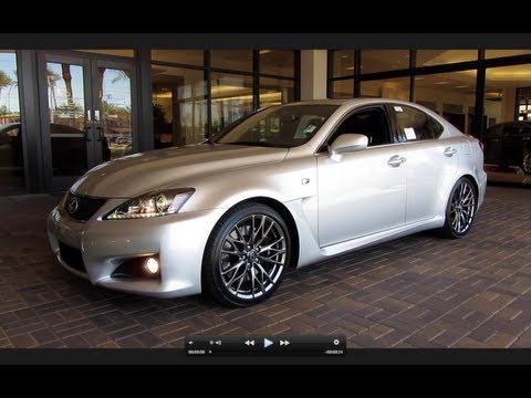 2011 Lexus IS-F Start Up, Exhaust, and In Depth Tour
