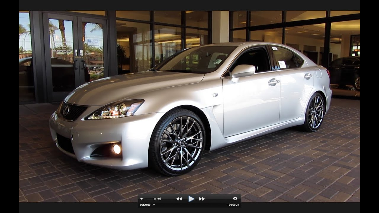 Beautiful 2011 Lexus IS F Start Up, Exhaust, And In Depth Tour   YouTube