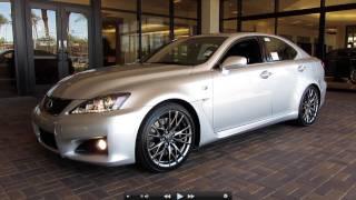 Lexus IS F 2012 Videos